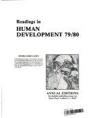 Readings in Human Development Book