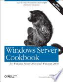 Windows Server Cookbook