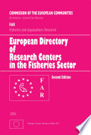 European Directory of Research Centers in the Fisheries Sector