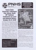 PNHS Newsletter