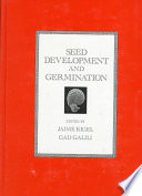 Seed Development And Germination