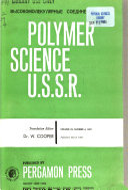 Polymer Science U.S.S.R.