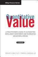 Quantitative Value, + Web Site