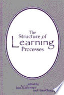 The Structure of Learning Processes