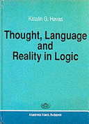 Thought  Language  and Reality in Logic