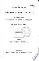 Ackermann s Juvenile Forget Me Not