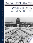 Encyclopedia of War Crimes and Genocide Book
