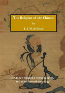 The Religion of the Chinese Pdf/ePub eBook
