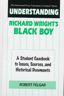 Understanding Richard Wright's Black Boy