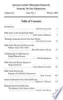 American Catholic Philosophical Quarterly  : Journal of The American Catholic Philosophical Association