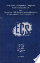 State of the Art Program on Compound Semiconductors XXXIX and Nitride and Wide Bandgap Semiconductors for Sensors  Photonics and Electronics IV