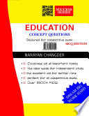 """""""EDUCATION MCQ BOOK"""" by Narayan Changder"""