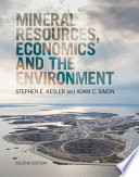 Mineral Resources  Economics and the Environment