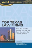 Vault Guide to the Top Texas Law Firms