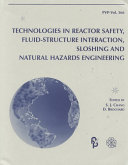 Technologies in Reactor Safety  Fluid structure Interaction  Sloshing and Natural Hazards Engineering