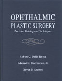 Ophthalmic Plastic Surgery Book