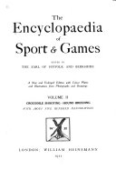 The Encyclopaedia of Sport and Games