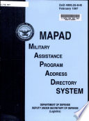Military Assistance Program Address Directory System
