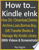 How To.. Kindle E Ink? Kindle E Ink Q & A Guide