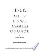 USA Quiz Bowl Crash Course Book