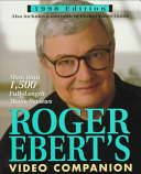 Pdf Roger Ebert's Video Companion
