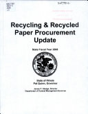 Recycling and Recycled Paper Procurement Update Book