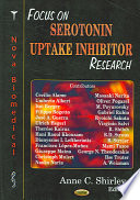Focus On Serotonin Uptake Inhibitor Research Book PDF