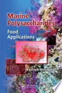 Marine Polysaccharides Book