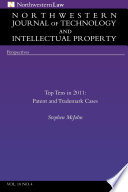 Northwestern Journal Of Technology Intellectual Property Vol 10 4
