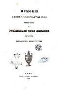 Memorie archeologico-storiche sulla citta di Polimarzo oggi Bomarzo scritte dall'arcipr. Luigi Vittori ebook