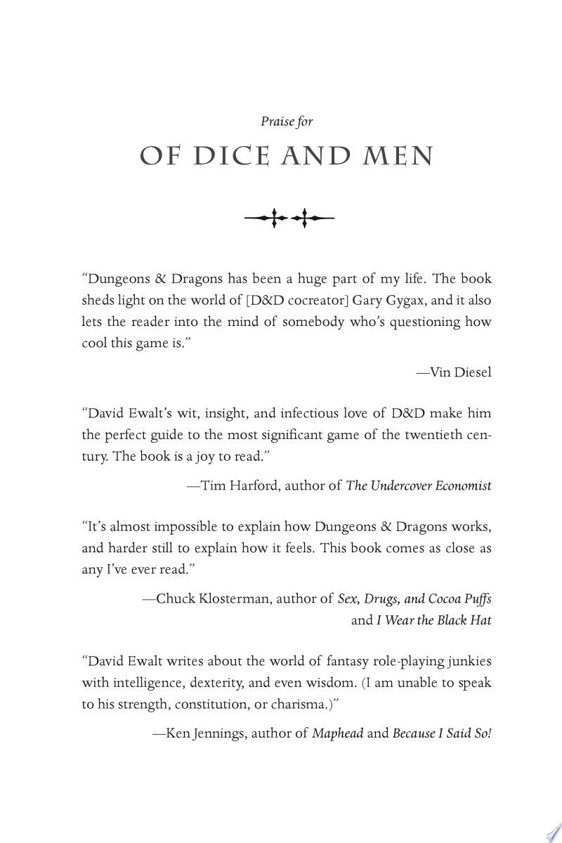 Of Dice and Men image