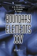 Boundary Elements XXV