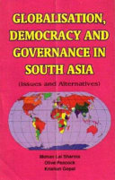 Globalisation, Democracy and Governance in South Asia