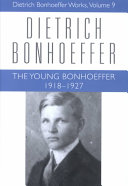 The Young Bonhoeffer, 1918-1927