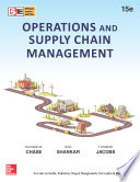 Operations and Supply Chain Management  15e  SIE