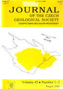 Journal Of The Czech Geological Society Book PDF