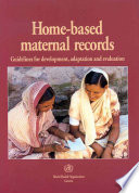 Home-based Maternal Records