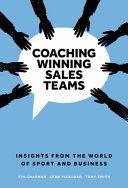 Coaching Winning Sales Teams