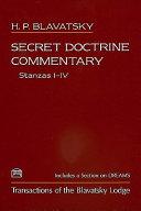 Secret Doctrine Commentary Stanzas I Iv