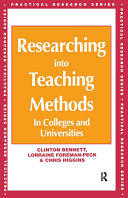 Researching into Teaching Methods
