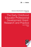 The Early Childhood Educator Professional Development Grant