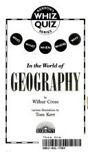 Who, What, When, Where, Why-- in the World of Geography
