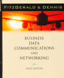 Cover of Business Data Communications and Networking