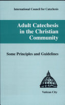 Adult Catechesis in the Christian Community