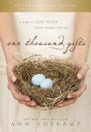 One Thousand Gifts 10th Anniversary Edition [Pdf/ePub] eBook