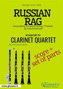 Russian Rag - Clarinet Quartet score & parts