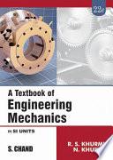 A Textbook of Engineering Mechanics Book