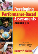 Developing Performance Based Assessments  Grades K 5 Book
