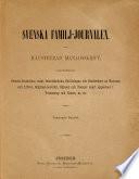 Svenska Familj journalen