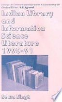 Indian Library and Information Science Literature, 1990-1991